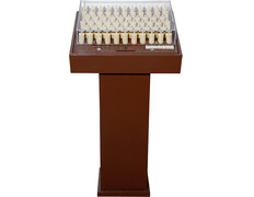 Electronic Votive Stand | 128 LED candles