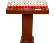 Electronic Votive Stand | 64 LED votive lamps