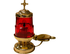 Lamp of the most Holy electric with 17 cm of height