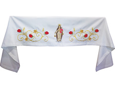 Marian embroidery alta cloth