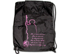 Backpack with image of Santiago peregrino