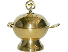 Shuttle to incense, with a spherical shape