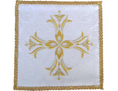 Palia embroidered Cross | Cloths altar white
