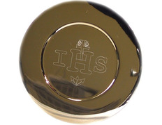 Paten with IHS and Cross engravings