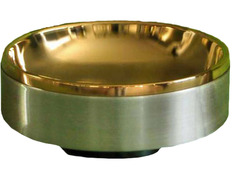 Paten of gold-plated metal inner