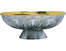Paten is engraved in metal and gold plated