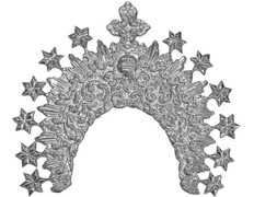 Crown for figure of the Virgin