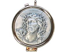 Porta per diem with the face of Jesus in relief