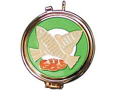 Portaviático with fish and bread glazed
