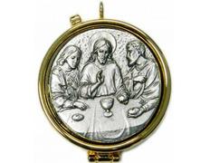 Portaviático with Last Supper relief