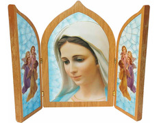 Pamphlets, religious - Madonna of Medjugorje