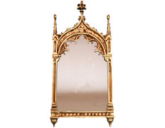 Sacred gothic style made of brass