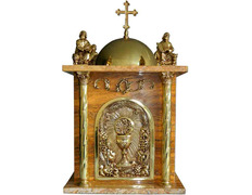 Tabernacle of the four Evangelists brown
