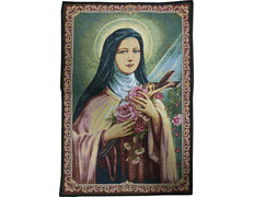Saint Therese of the Child Jesus tapestry