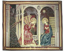 Tapestry of the Annunciation (fra Angelico)