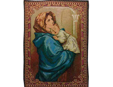 Tapestry of the Madonna and Child (Madonnina) Ferruzi