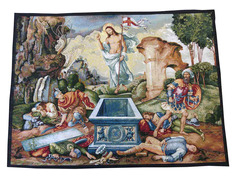 Wallpaper wall of the Resurrection of Jesus