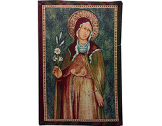 Wallpaper the Prayer of Saint Clare of Assisi