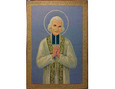 Tapestry of the Holy Curé of Ars, St. John Vianney