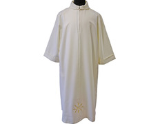 Altar boy vestments   JHS embroidery beige