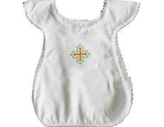 Dress Christening for baby with embroidery