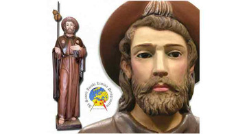 Image of saint James the Apostle   religious Imagery in Olot
