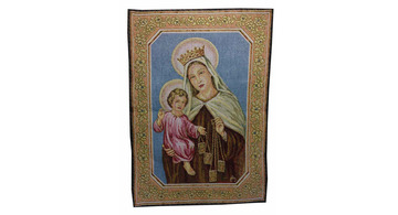 Tapestries with religious motives