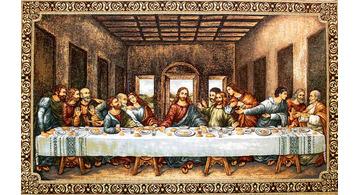 Tapestry of the Last Supper of Leonardo Da Vinci