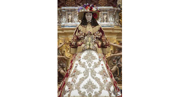 Dresses of the Virgin Mary, the Virgin of Rocío