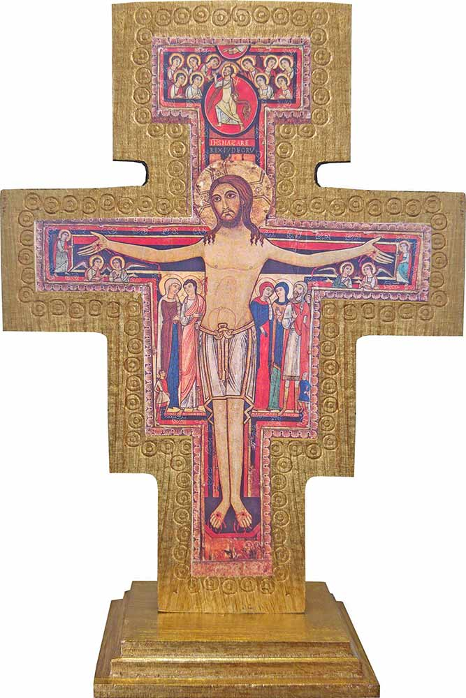 e51f86a49f6 San Damiano cross wood